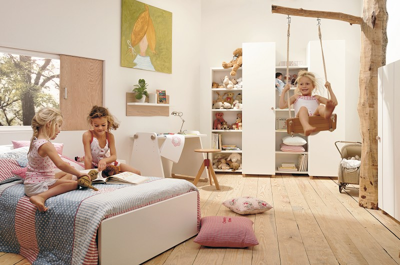 Pokoje dla dziewczynek - wcale nie muszą być różowe. Zobacz inspirujące aranżacje pokoju dziecięcego