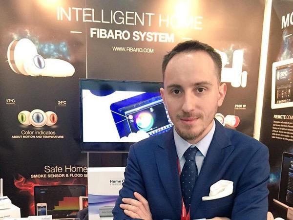 Krystian Bergmann - ekspert Fibaro