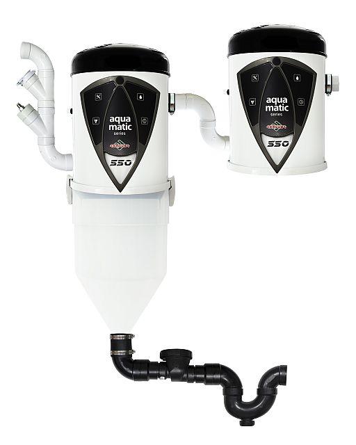 Odkurzacz centralny Aqua Matic 550