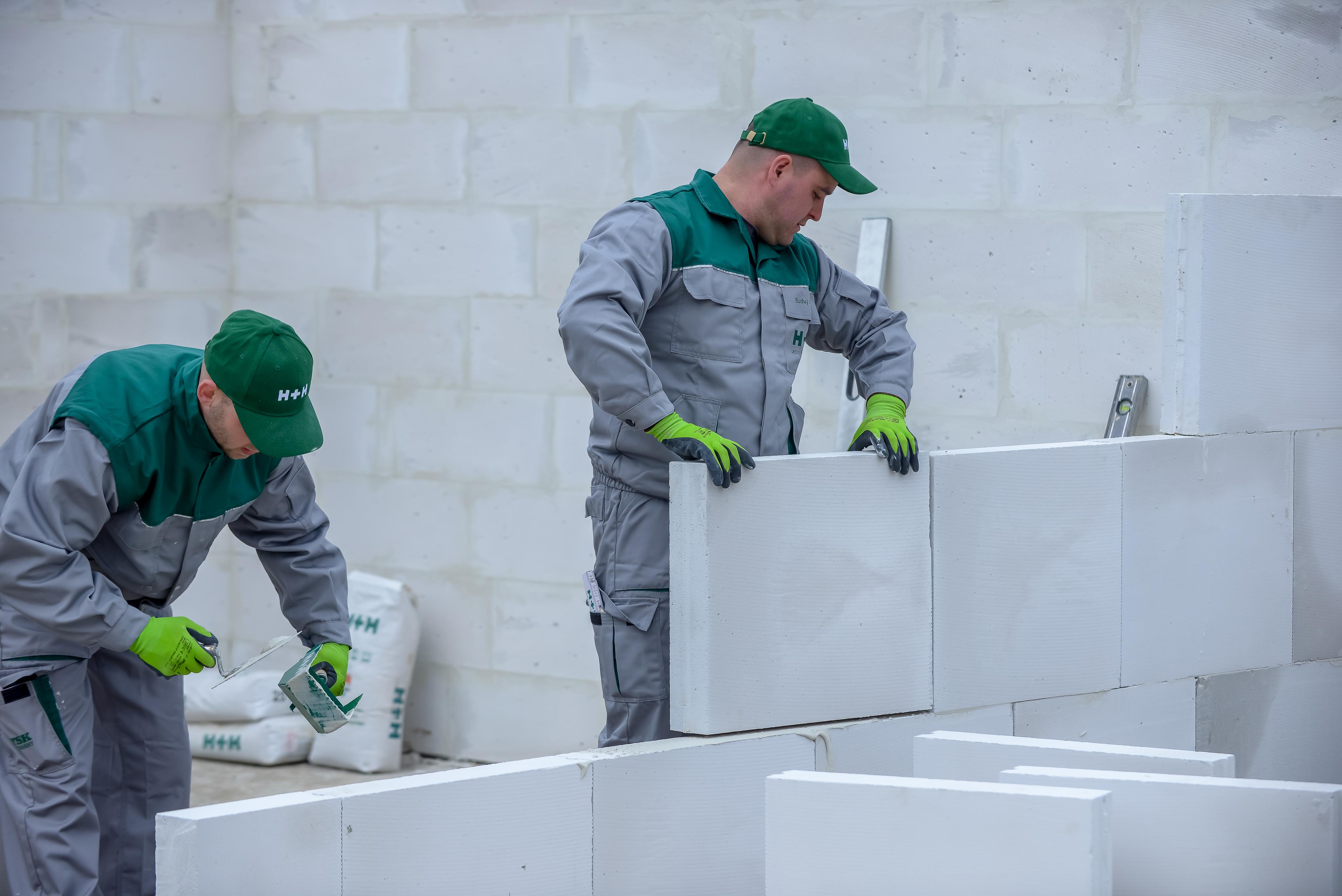 Panele z betonu komórkowego
