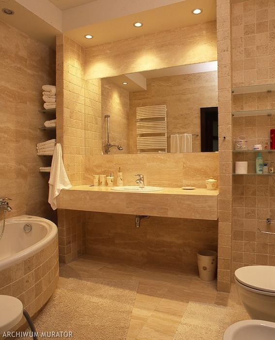 Oświetlenie łazienkowe aranżacje