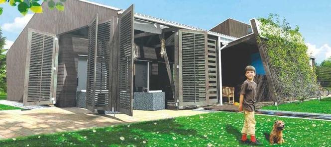 Dom z tropikiem