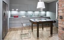 Szara kuchnia nowoczesna i elegancka. Zobacz aranżacje kuchni w szarym kolorze
