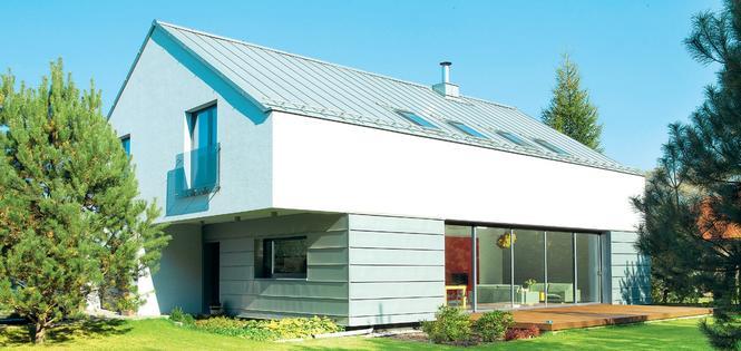 Modny szary dach