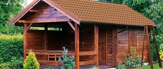 Zadaszenie altany. Jak szybko wykonać pokrycie dachu altany, wiaty, drzwi wejściowych