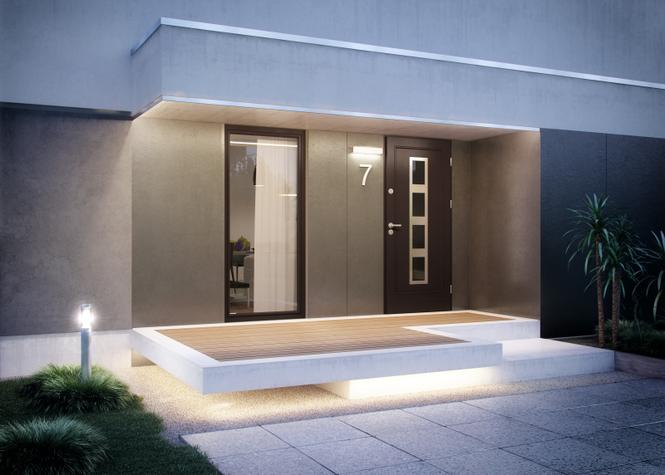 Drzwi zewnętrzne Elegant
