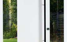 Nowoczesne drzwi zewnętrzne – automatyczny zamek, elektroniczna kontrola dostępu i szyby antywłamaniowe