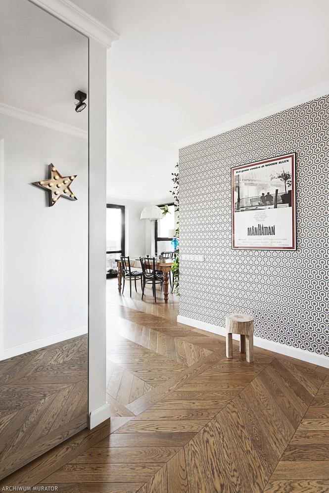 Parkiet francuski - elegancka podłoga w salonie
