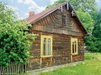 Stara chata z drewna