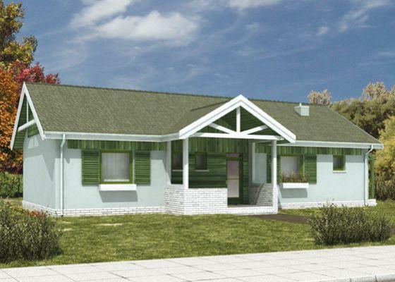 Domy parterowe - jak na jednym piętrze zaplanować salon, sypialnię i kotłownię?