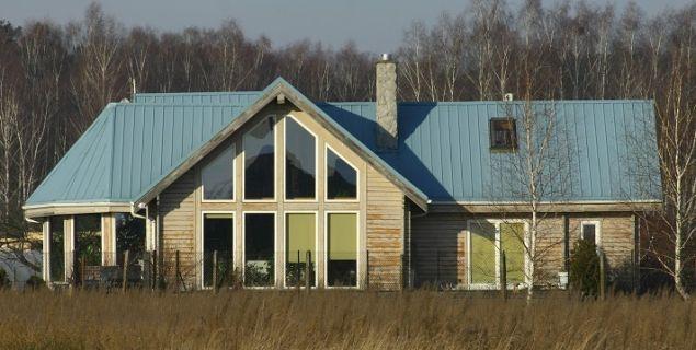 Pokrycie dachowe z blachy