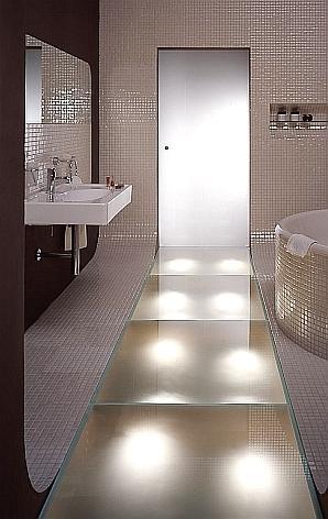 Łazienka bez kantów