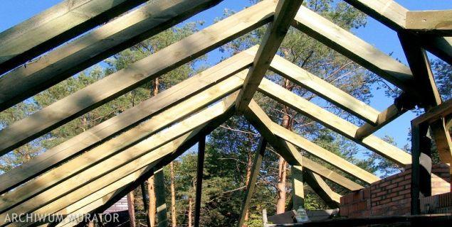 Drewno na dach. Najlepszy materiał na więźbę dachową